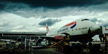 BA 747