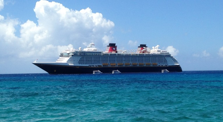Disney Fantasy tendered at Grand Cayman - © 2014 by Marshall Jackson