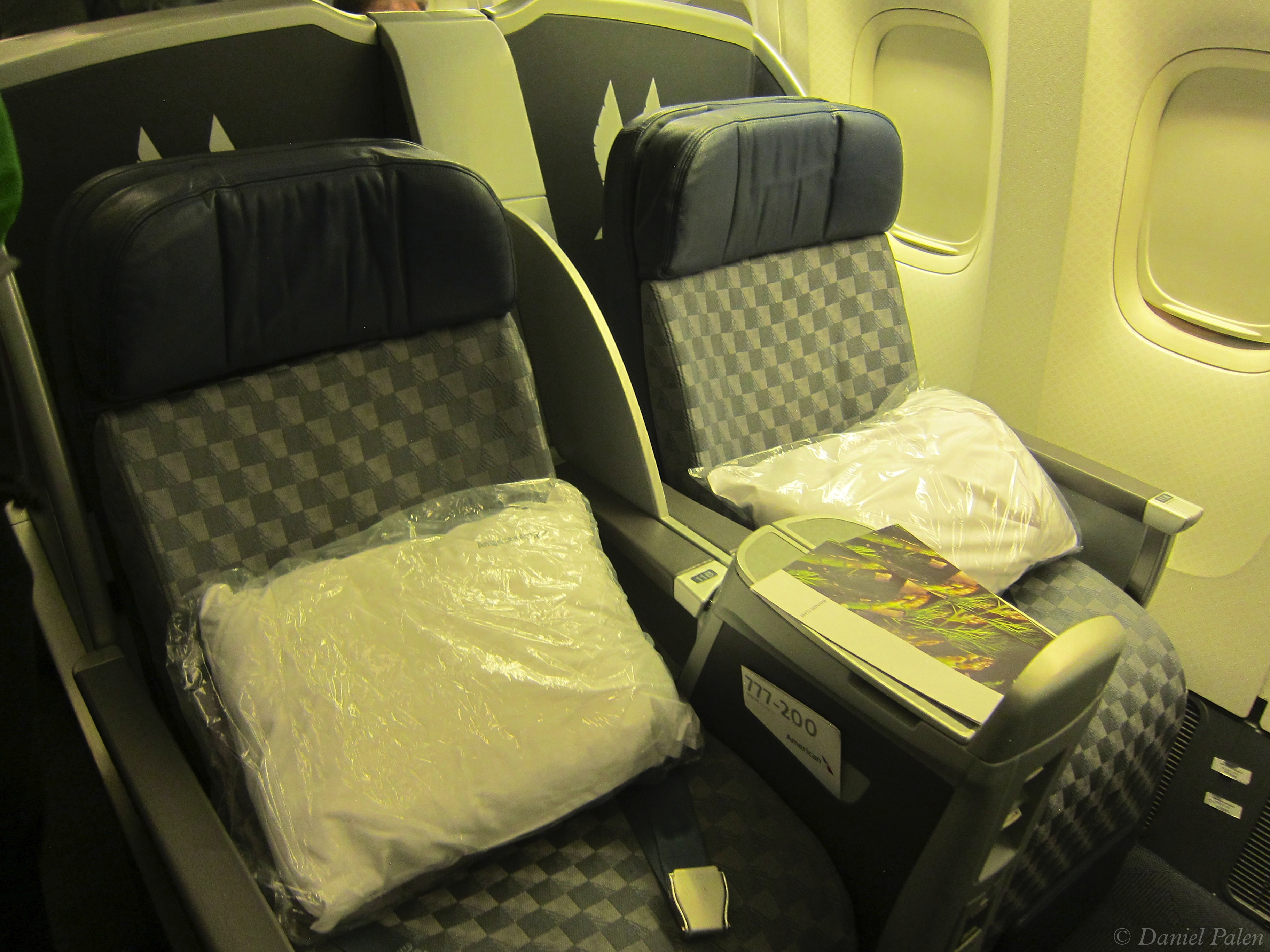 American Airlines Business Class Dallas To Santiago