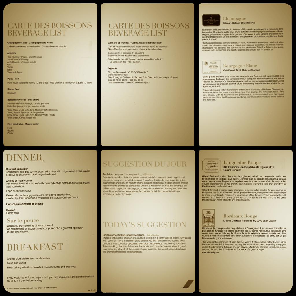 MMT AF menu pics