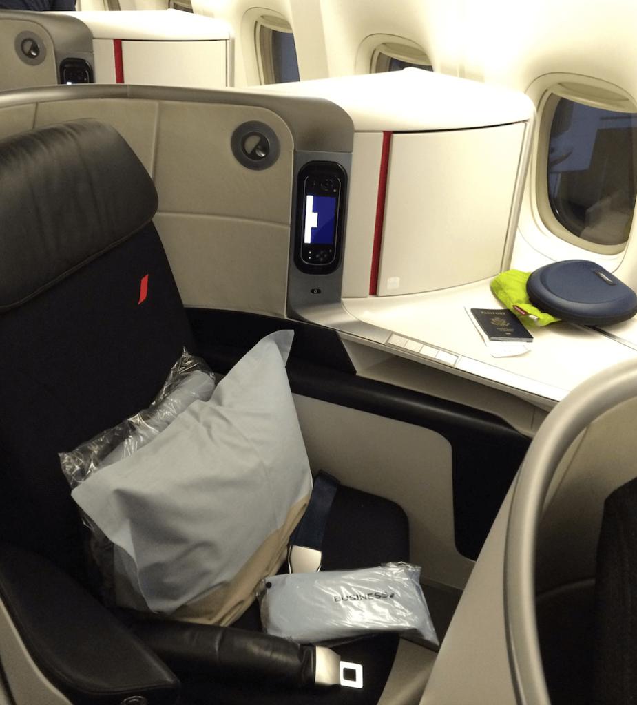MMT AF on boarding the seat