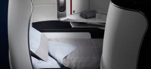 MMT New Biz Seat AF promo lie flat