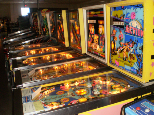 The Las Vegas Pinball Hall of Fame, photo credit James Brooks