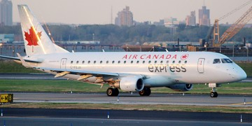 Air Canada Express Airplane