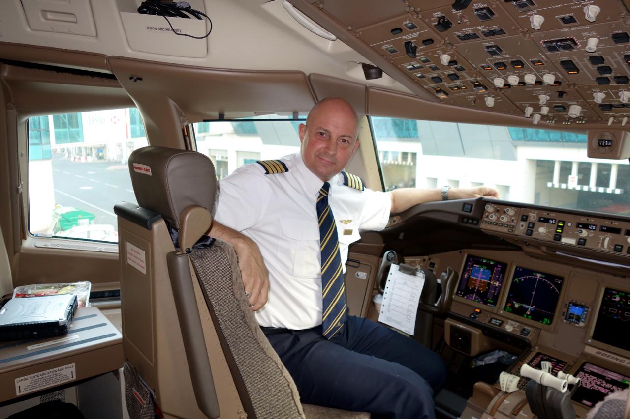 Meeting the pilot