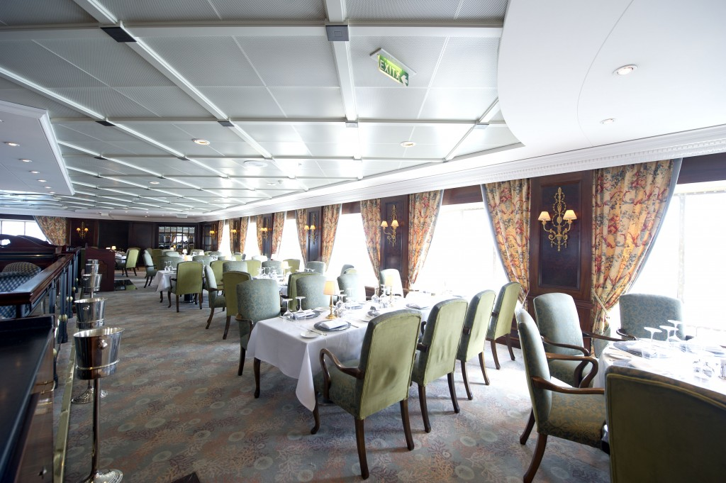 M/V Adonia Restaurant - Image courtesy of Carnival Corp.