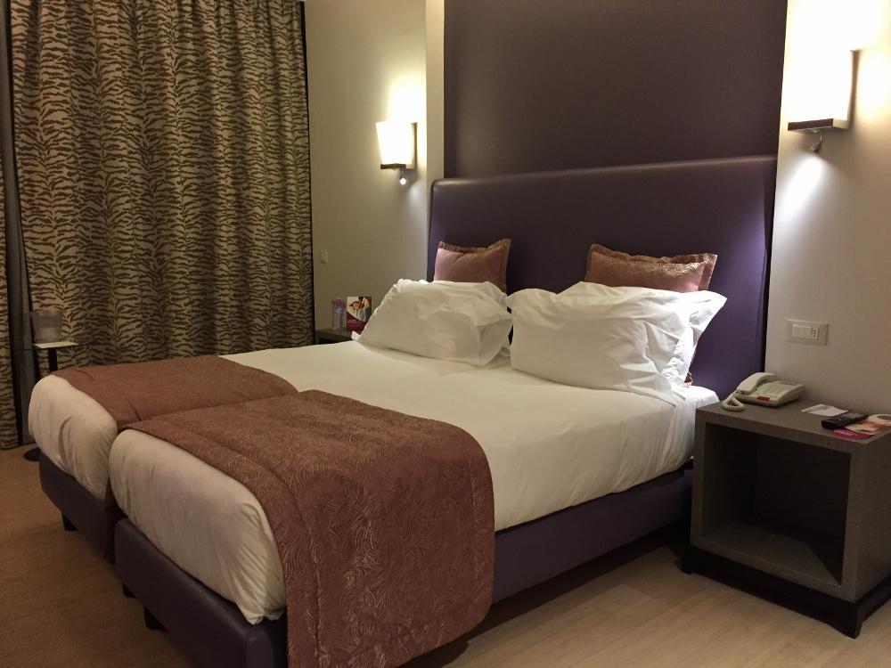 Crowne Plaza Verona - Bedroom