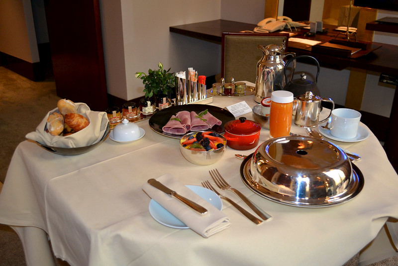 Hyatt Diamond Breakfast - Park Hyatt Paris
