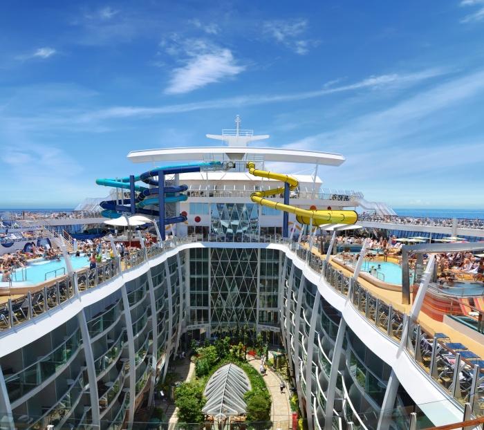 Harmony of the Seas, Royal Caribbean, Grease, Central Park, royal caribbean broadway shows