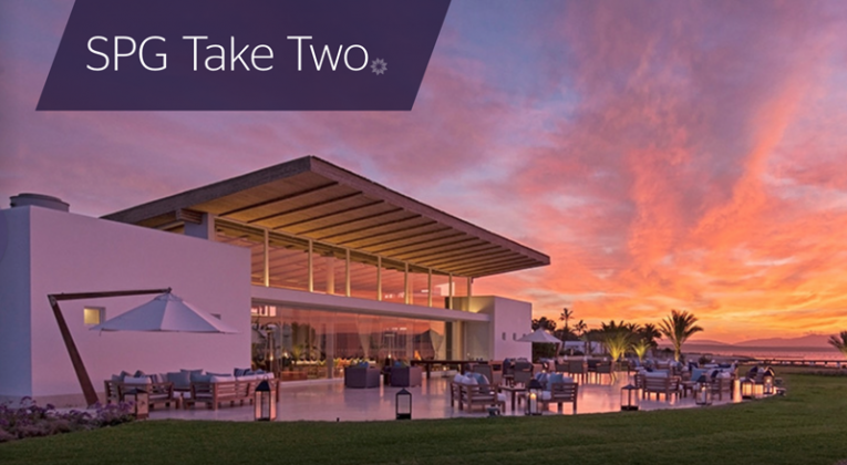 Starwood Preferred Guest Take Two promotion 2016