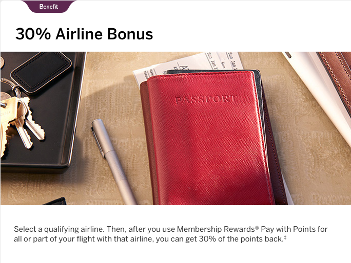 amex platinum airline credit