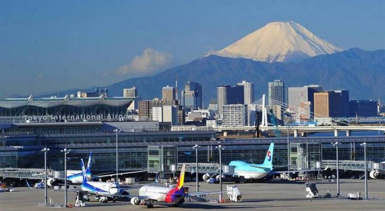 image courtesy; Haneda Airport