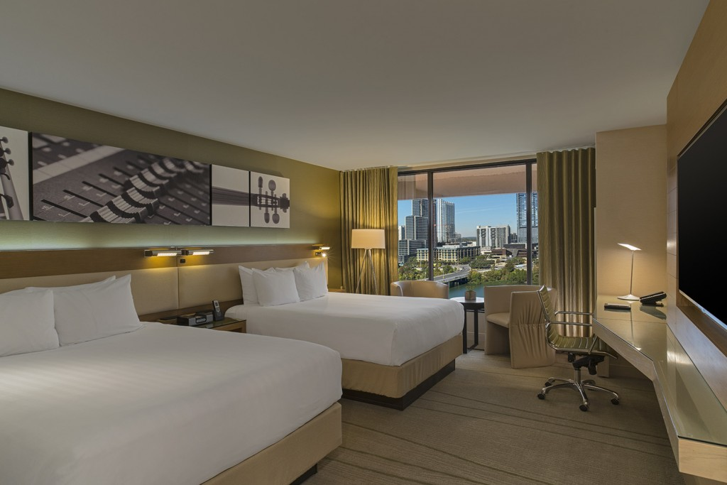 Hyatt Regency Austin renovated rooms