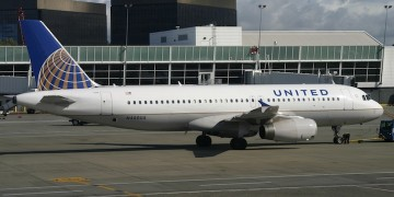 United Airlines Airbus A320-232