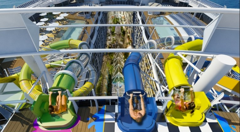 harmony of the seas, harmony of the seas update, harmony of the seas waterslides