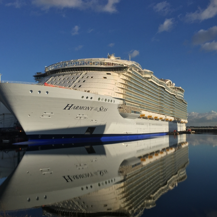 harmony of the seas, harmony of the seas update