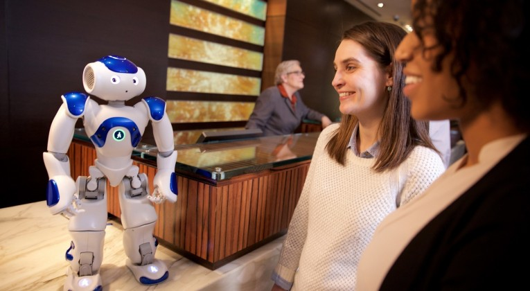 Connie robot concierge Hilton Worldwide