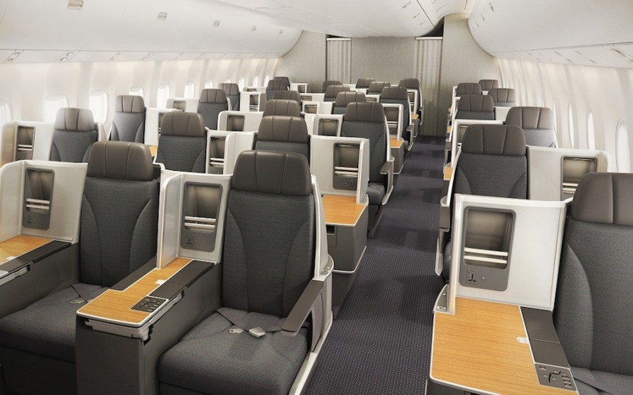 American Airlines Boeing 767 - New Business Class