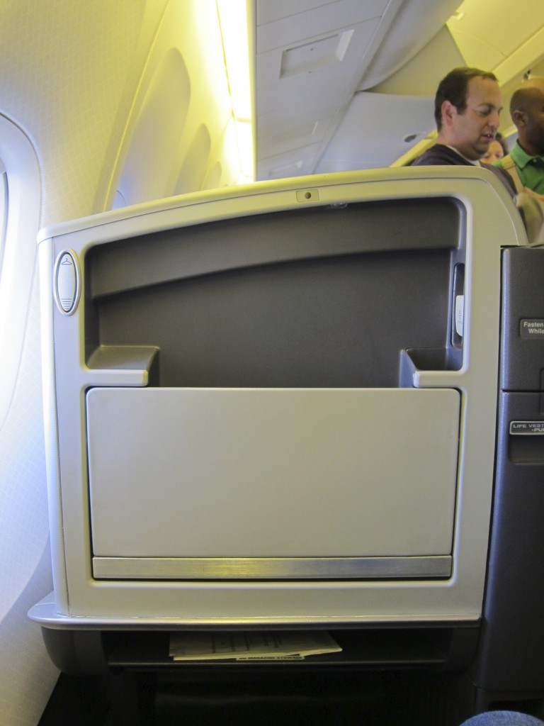 American Airlines Boeing 767 - Business Class