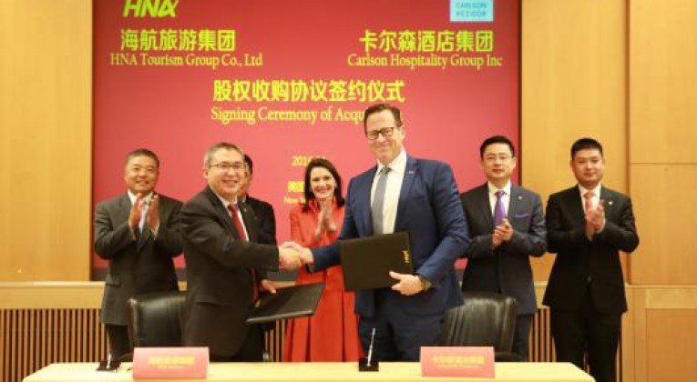 HNA Tourism Group acquisition of Carlson Hospitality Group