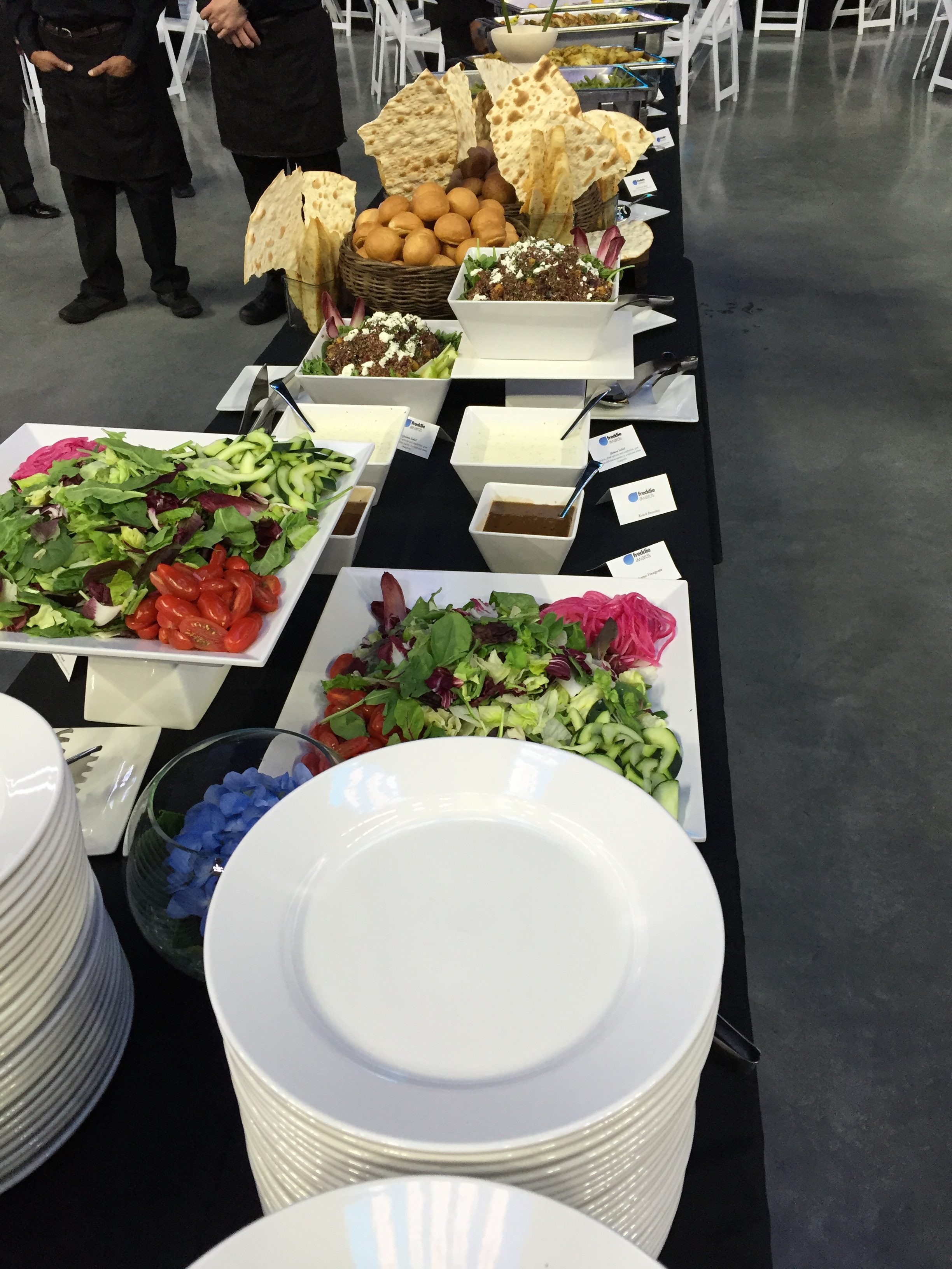 Buffet at the Freddie Awards