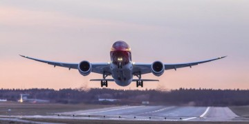 "Norwegian Air Shuttle Boeing 787 ""Dreamliner"" airplane"