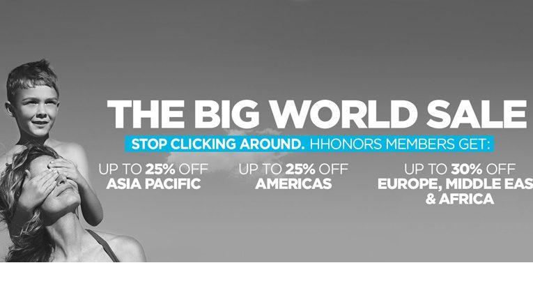 The Hilton Big World Sale