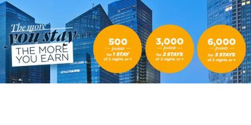 Le Club AccorHotels The More You Stay, The More You Earn promotion May 2016