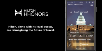 Hilton HHonors and Google Maps software integration