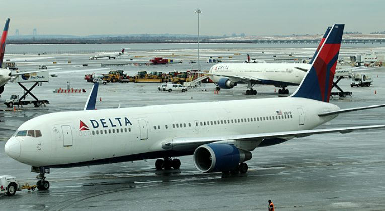 Delta Air Lines airplane