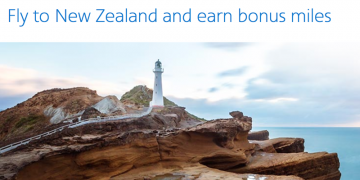 30,000 Bonus AAdvantage Miles on Flights to New Zealand 2016