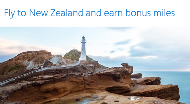 30,000 Bonus AAdvantage Miles on Flights to New Zealand 2016