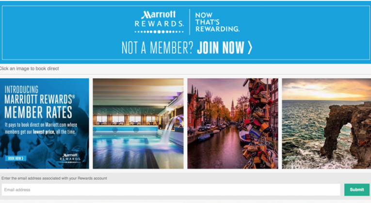 500 Free Marriott Rewards Points Instagram