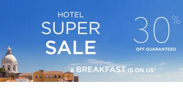 Hotel Super Sale of Accor Hotels