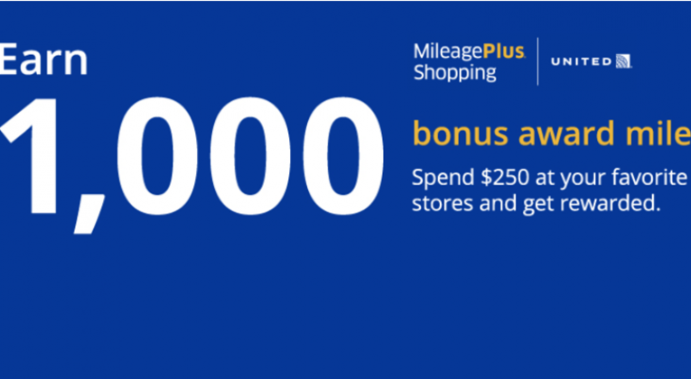 1,000 bonus award MileagePlus miles summer 2016