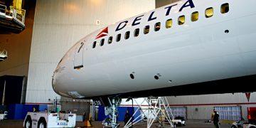 Delta Air Lines airplane