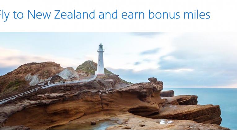 Up to 30,000 Bonus AAdvantage miles to Auckland