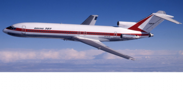 Boeing 727 Intercontinental airplane
