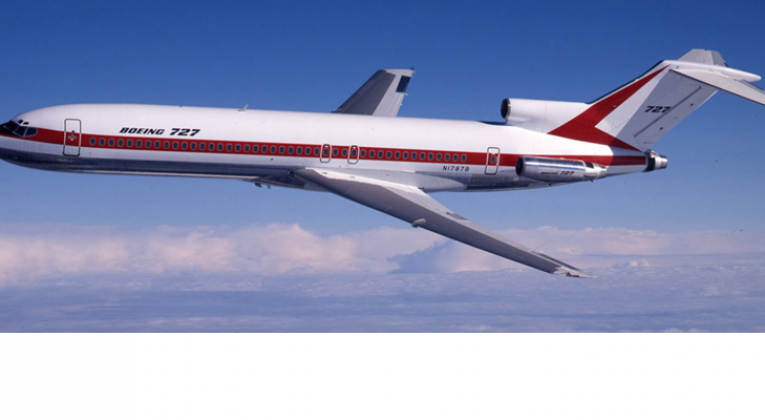 Boeing 727 Intercontinental airplane