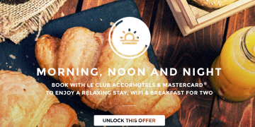 Morning, Noon and Night promotion AccorHotels