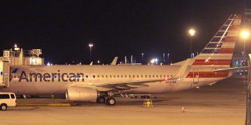 American Airlines N897NN Aircraft in Las Vegas