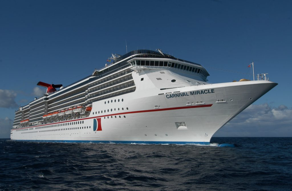 Image courtesy of Carnival Corporation