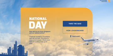 Singapore Airlines National Day quiz 2016