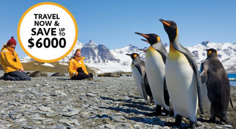 Up to $6,000.00 discount to Antarctica 2016