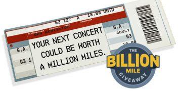 The Billion Mile Giveaway 2016