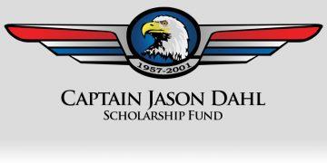 The Captain Jason Dahl Scholarship Fund Logo