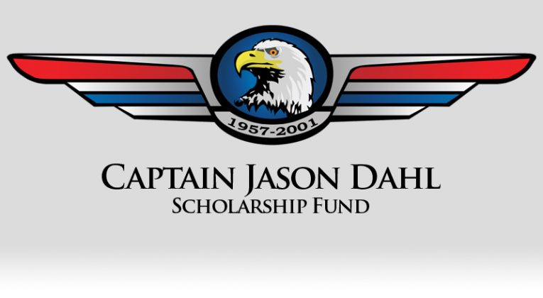 The Captain Jason Dahl Scholarship Fund Logo
