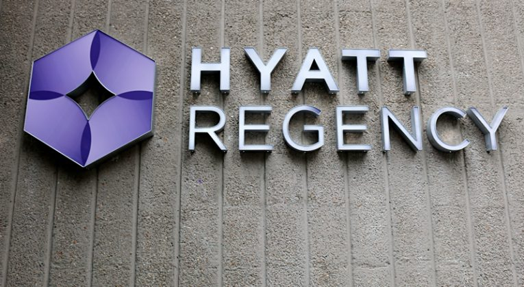 Hyatt Regency sign