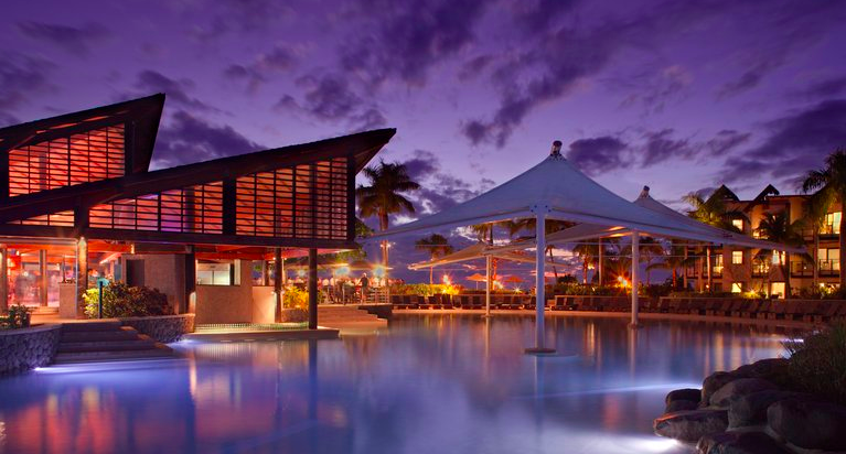 Screen shot from Radisson Blu's website of the Radisson Blu Resort Fiji Denarau Island