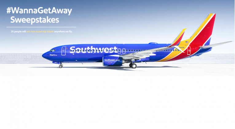 Wanna Get Away? Round Trip Flight for 25 Winners of
